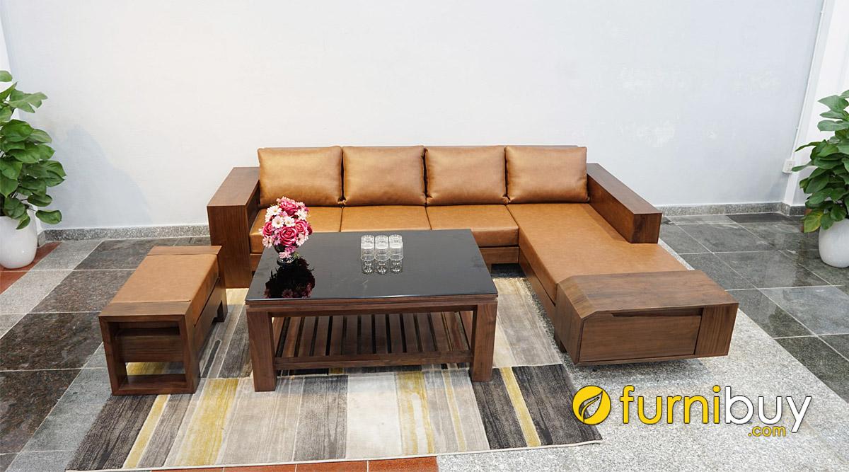 giá bán sofa gỗ óc chó bao nhiêu tiền
