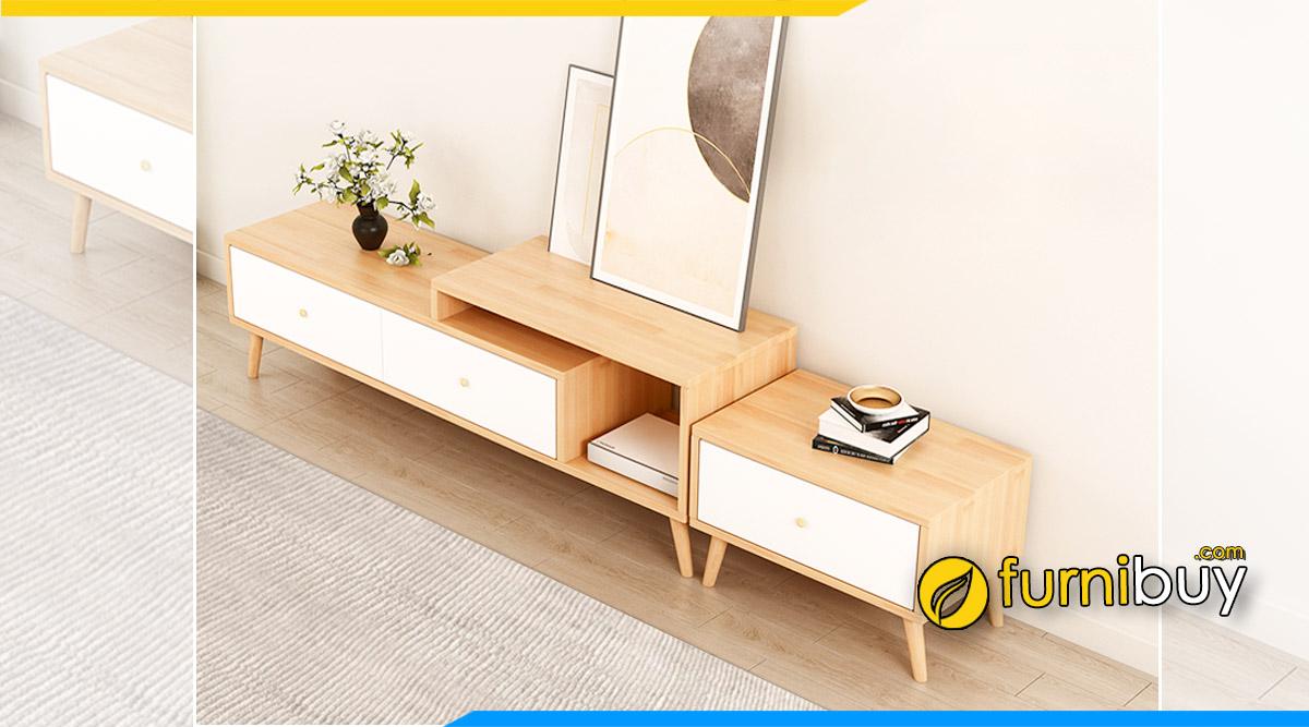 hình ảnh mẫu kệ tivi gỗ mdf giá rẻ dưới 2 triệu đặt sàn