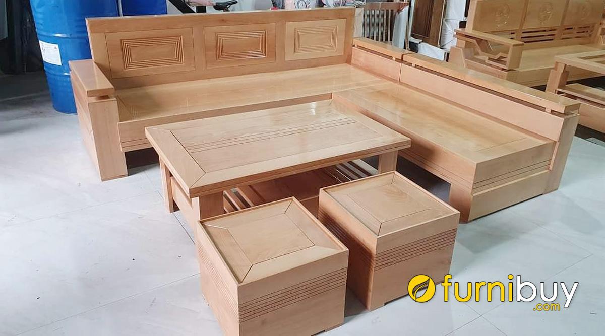 cách chọn mua sofa gỗ bích đẹp giá rẻ