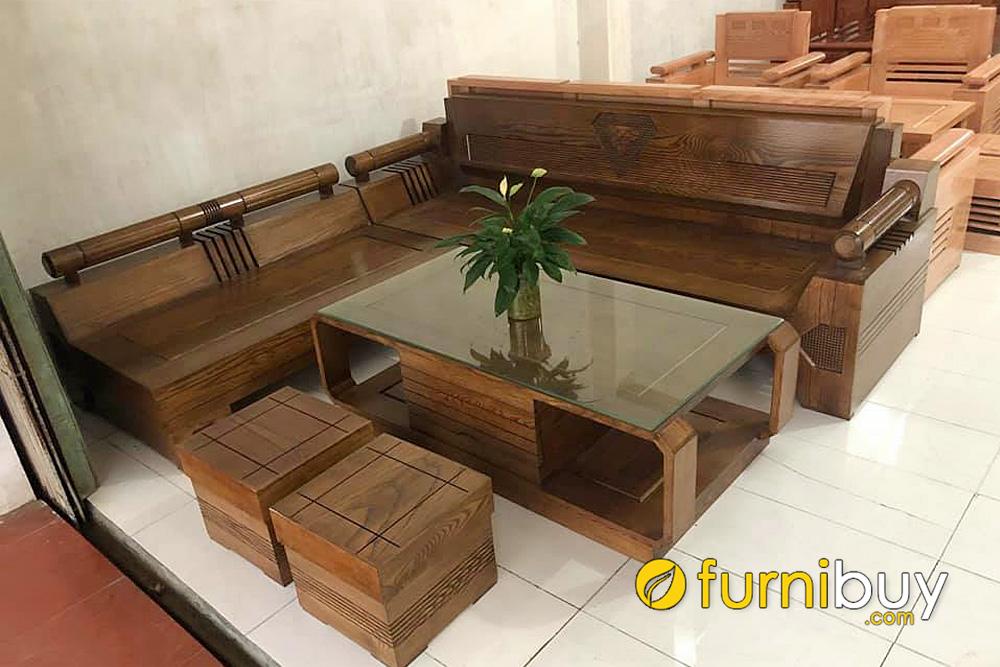 Mua sofa gỗ bích đẹp giá rẻ