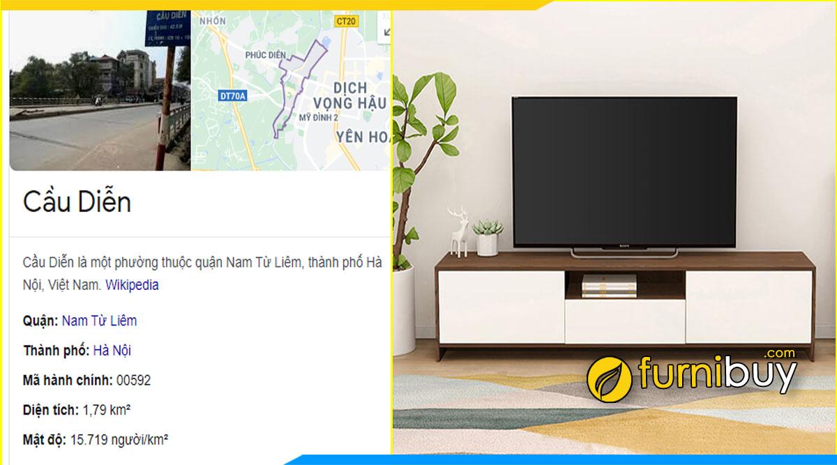Cửa hàng bán kệ tivi giá rẻ Cầu Diễn - Nhổn