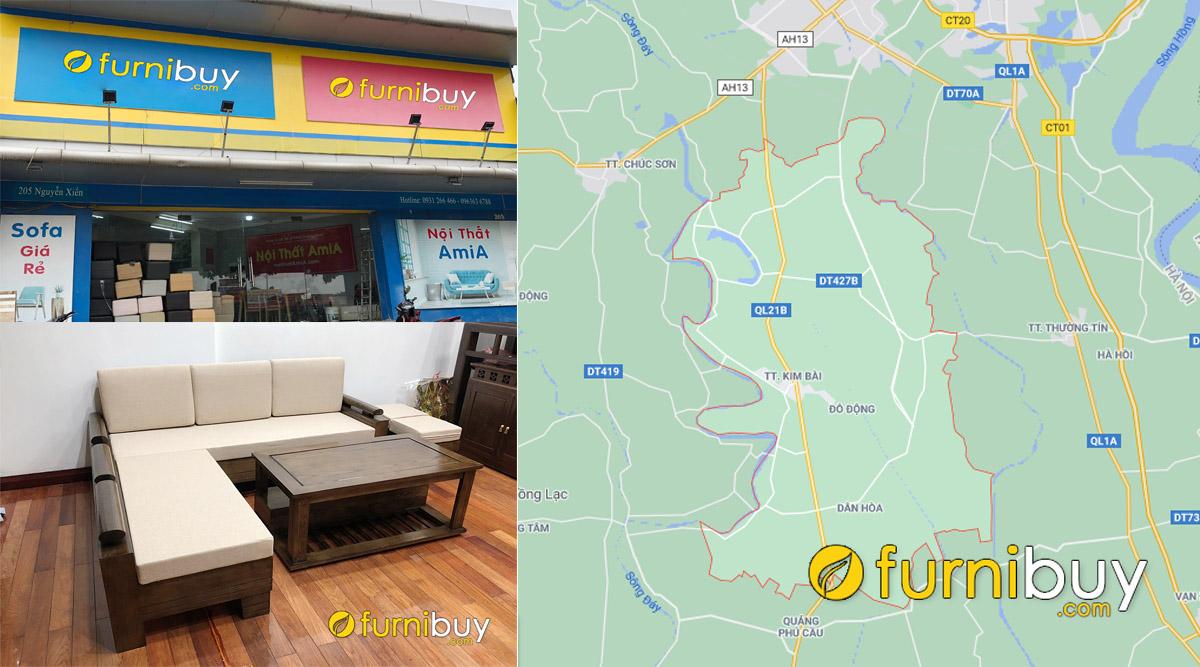 cửa hàng bán sofa gỗ đẹp giá rẻ tại huyện thanh oai hà nội