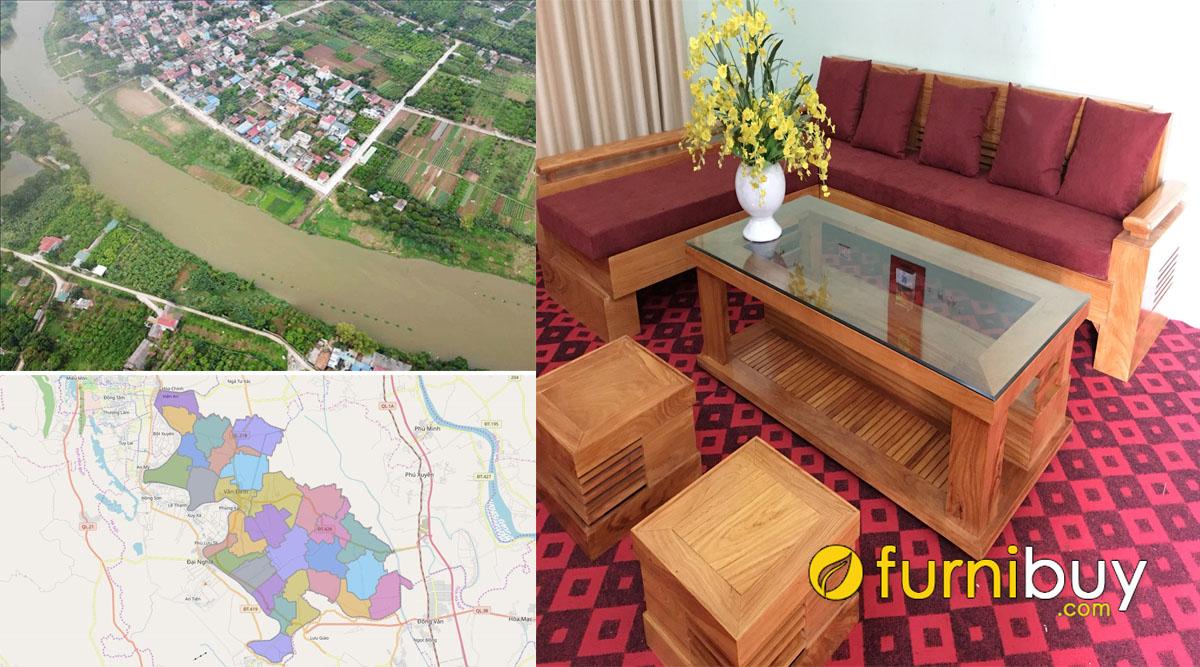 cửa hàng bán sofa gỗ giá rẻ huyện ứng hoà hà nội
