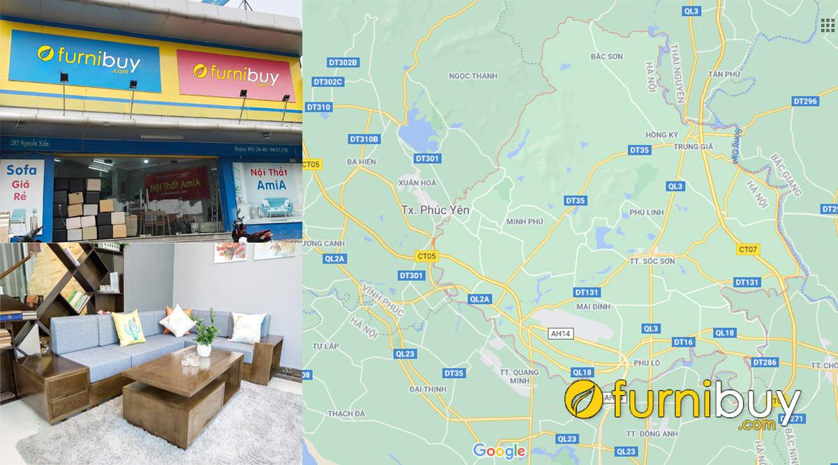 cửa hàng bán sofa gỗ giá rẻ tại huyện sóc sơn hà nội