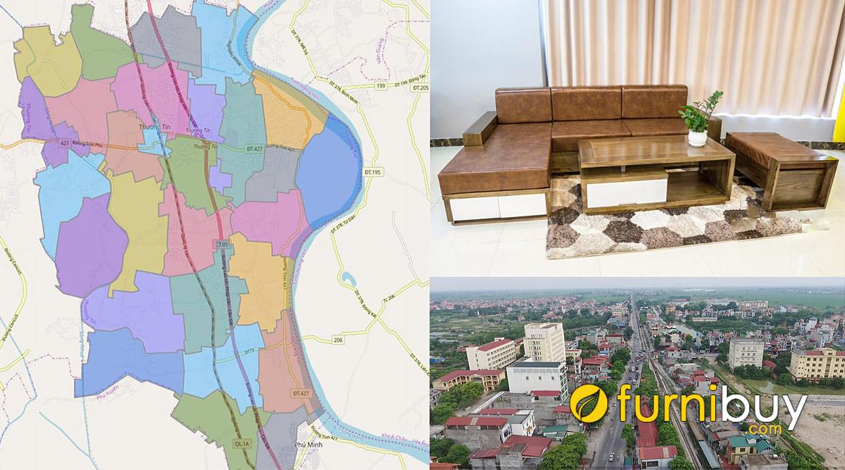 cửa hàng bán sofa gỗ giá rẻ tại huyện Thường Tín Hà Nội