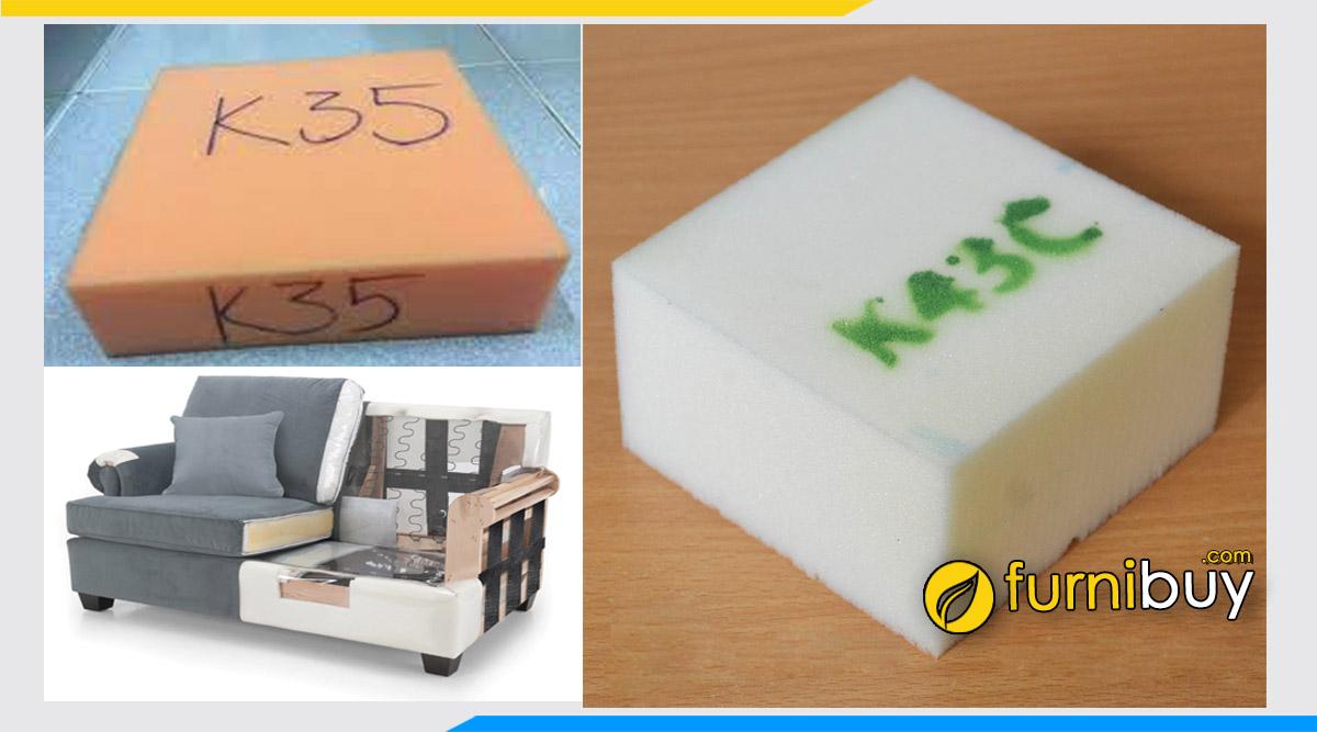 Đệm mút sofa K30, K35, K43