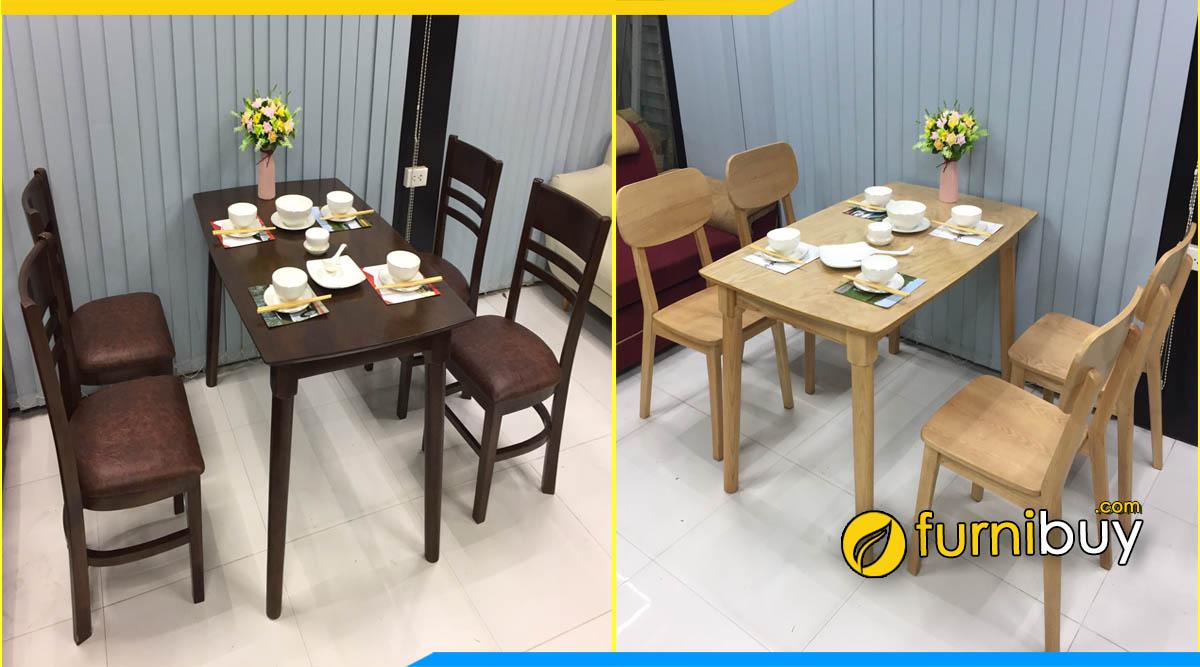 Địa chỉ bán bàn ghế ăn giá rẻ Đông Anh Furnibuy