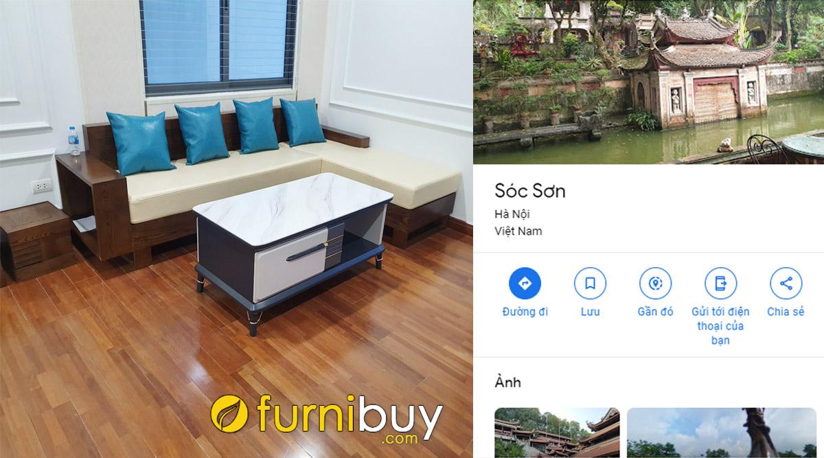địa chỉ bán sofa gỗ đẹp giá rẻ tại huyện sóc sơn hà nội