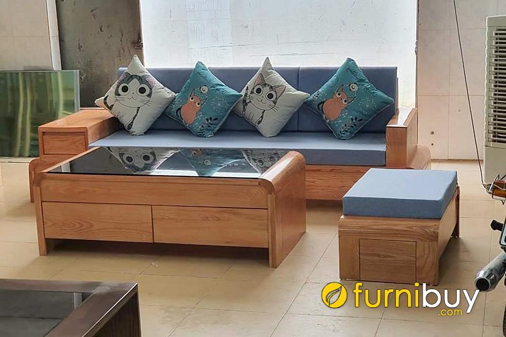 đóng bàn ghế sofa gỗ bích theo yêu cầu giá rẻ