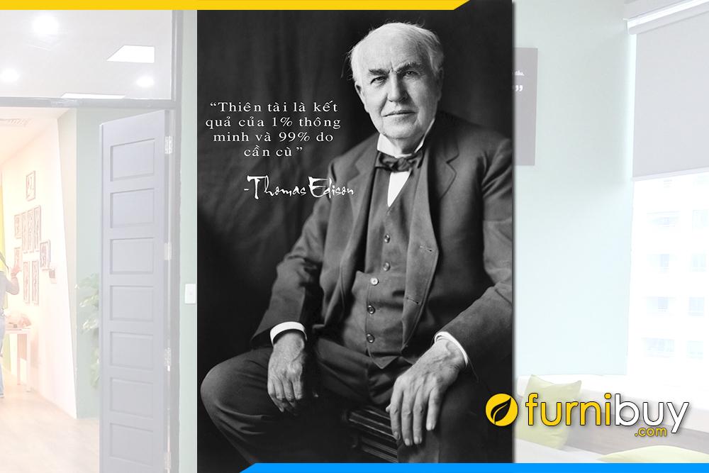 Tranh Thomas Edison cau noi noi tieng