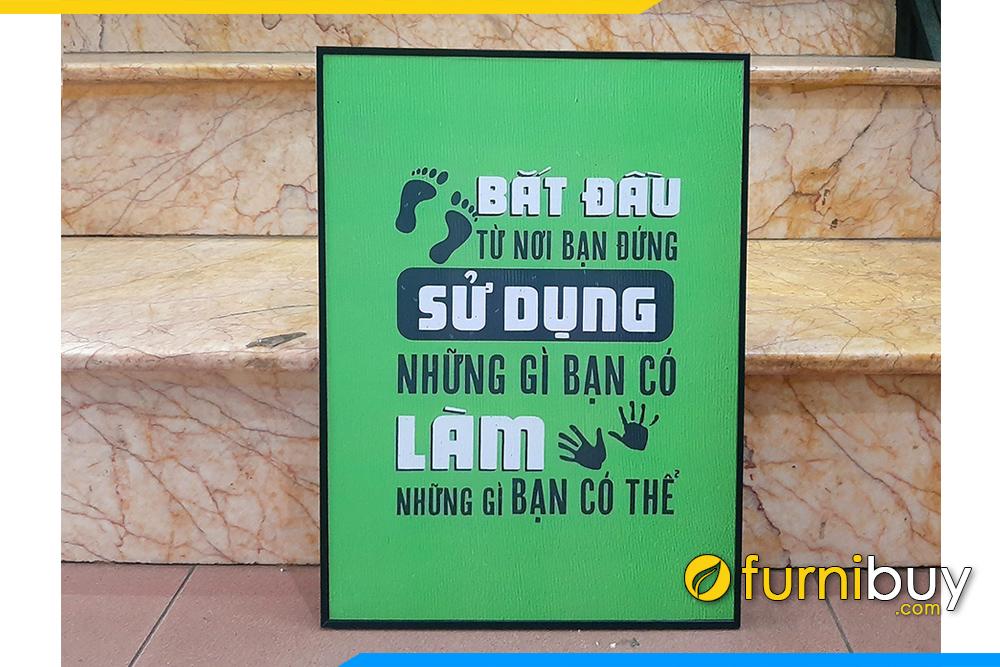 Tranh van phong dong luc lam nhung gi ban co the