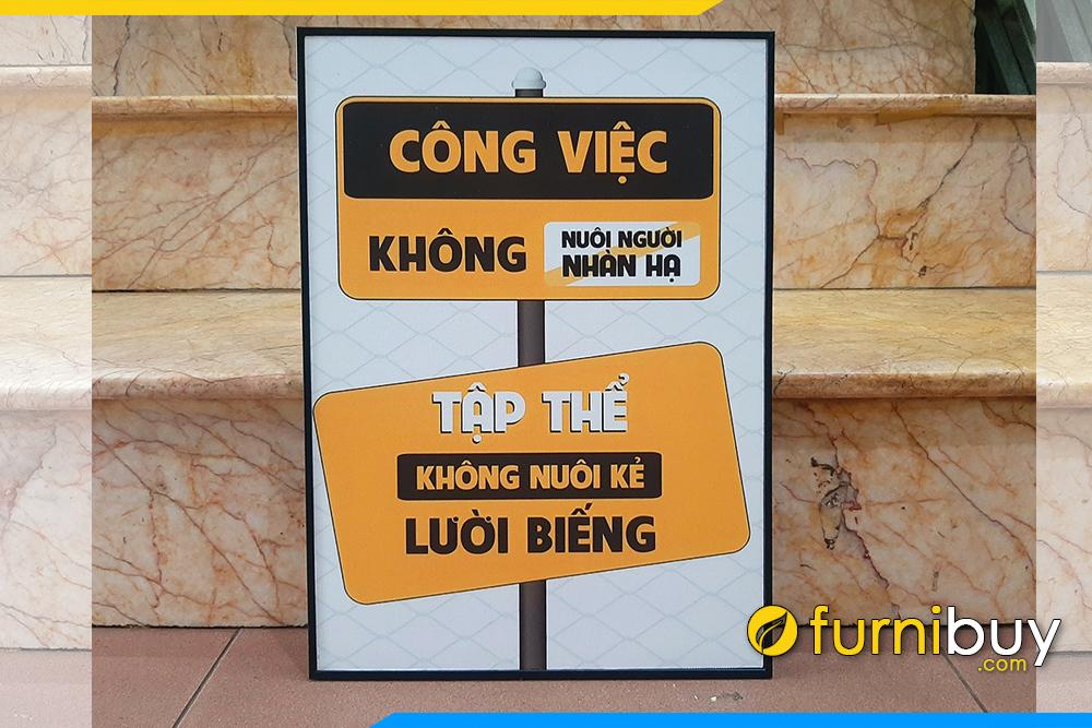 Tranh van phong dong luc cong viec khong nuoi nguoi nhan ha