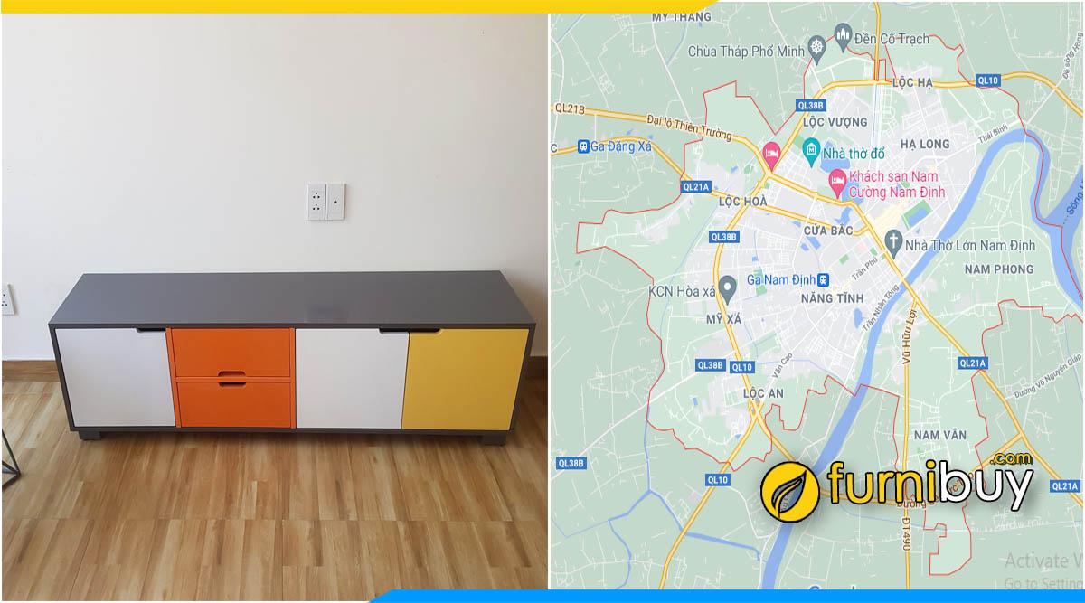 Furnibuy gợi ý mua kệ tivi giá rẻ tại Nam Định