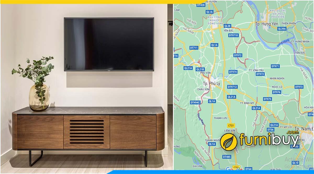 Furnibuy gợi ý mua kệ tivi tại Hà Nam
