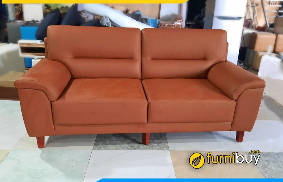Furnibuuy làm sofa theo yêu cầu dạng văng 2 chỗ nhỏ mini