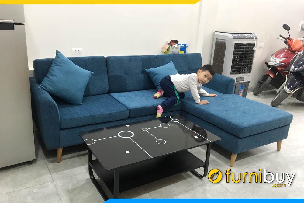 Furnibuy nhận làm sofa nỉ theo yêu cầu tại Ba Đình