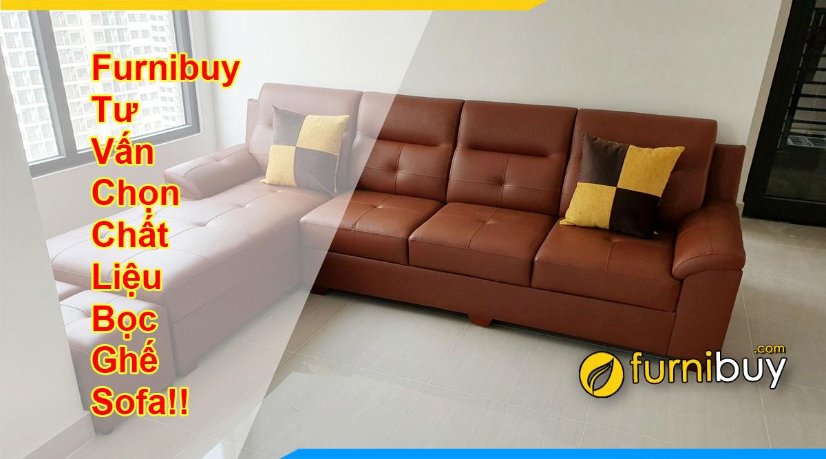 Furnibuy tư vấn chất liệu bọc sofa chi tiết 2021