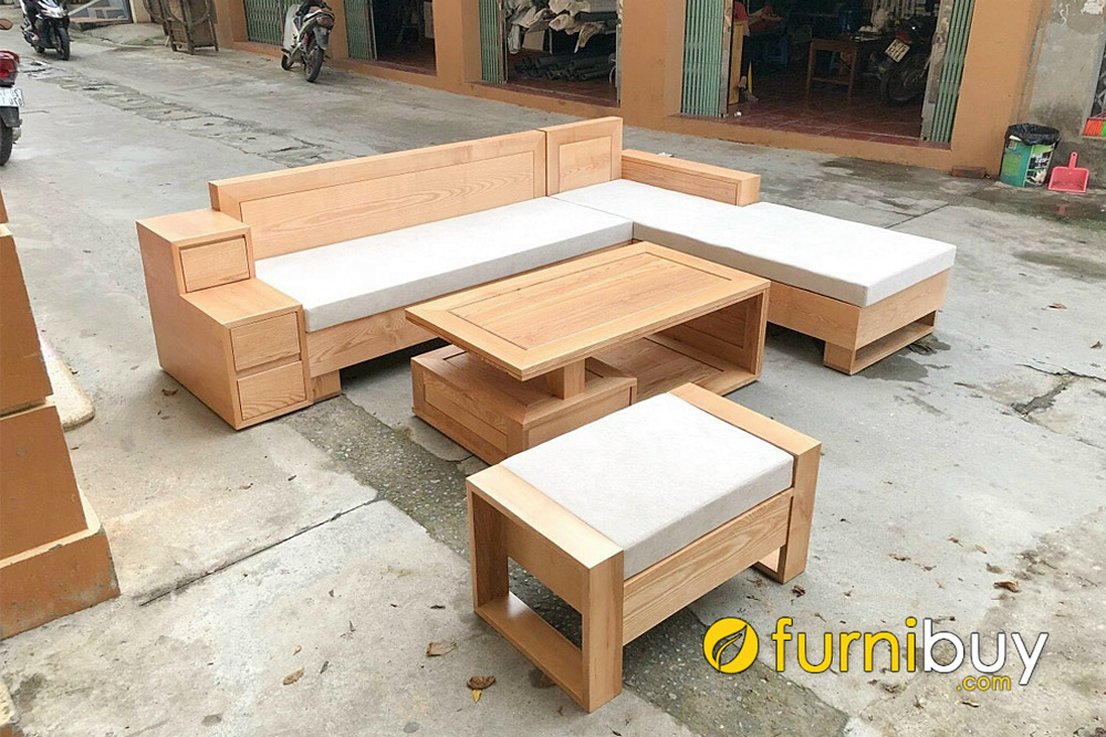 furnibuy xưởng nhận đóng sofa gỗ dẻ gai giá rẻ tại hà nội