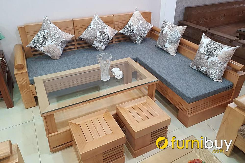 giá 1 bộ sofa gỗ bích bao nhiêu tiền