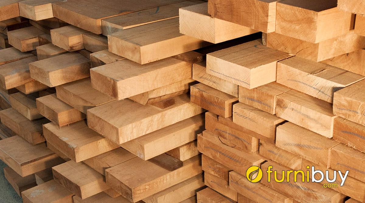 gỗ dẻ gai dùng bền không giá trị của gỗ nhập khẩu