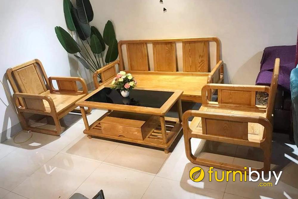 kinh nghiệm mua sofa gỗ bích giá rẻ tại Hà Nội