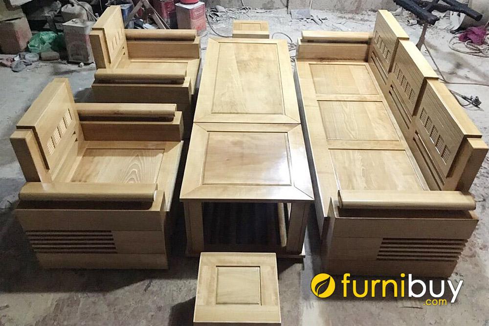 mẫu sofa thùng gỗ bích bền đẹp