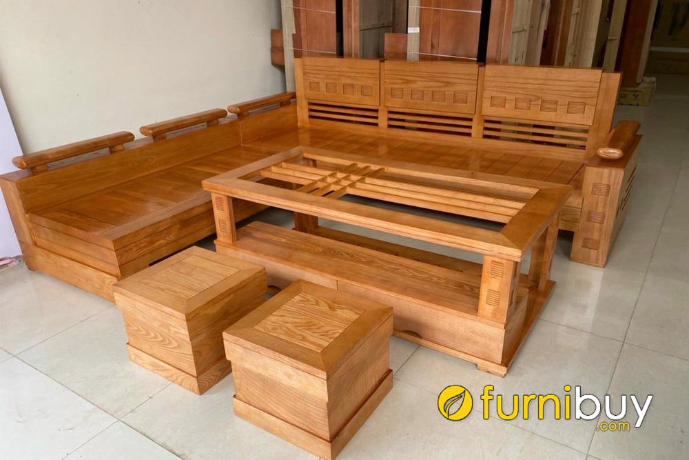 mua sofa gỗ giá rẻ ở thanh oai địa chỉ nào uy tín