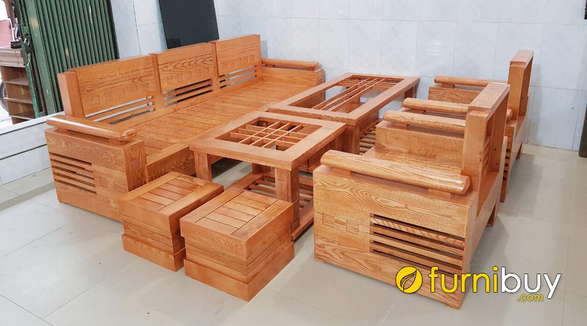 so sánh sofa gỗ tần bì và sofa gỗ sồi như thế nào