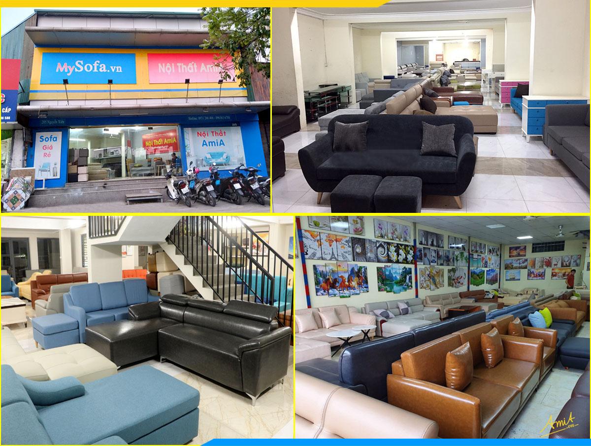 Xưởng sofa giá rẻ tại kho 1000 mẫu đẹp có sẵn Furnibuy