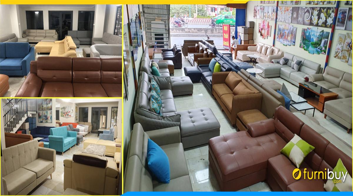 Top 5: địa chỉ bán ghế sofa văn phòng tại Hà Nội furnibuy