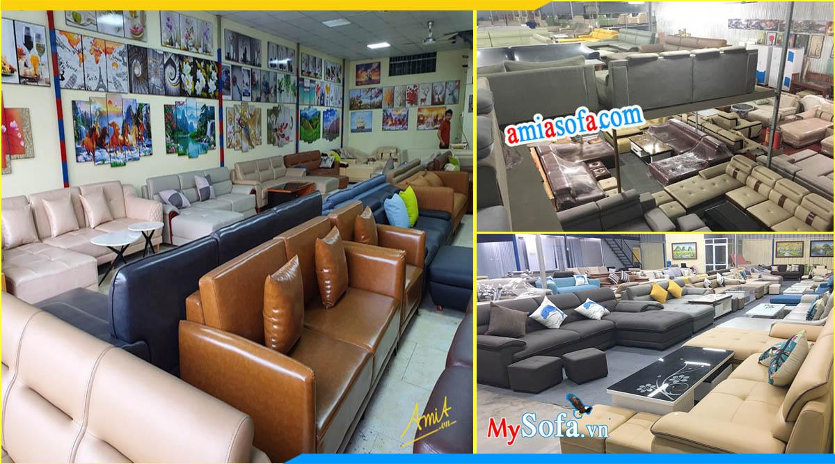 Cửa hàng bán bàn ghế sofa văn phòng Furnibuy rộng sấp sỉ 1000m2