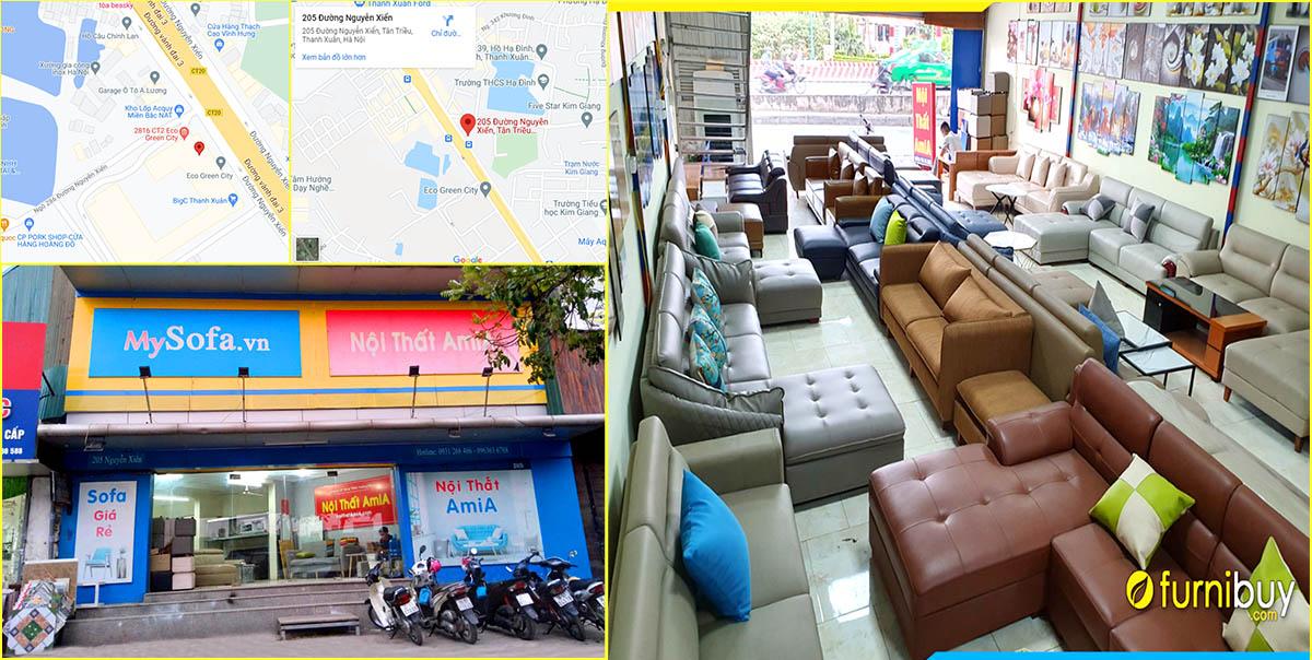 Cửa hàng bán bàn ghế sofa văn phòng tại Hà Nội furnibuy