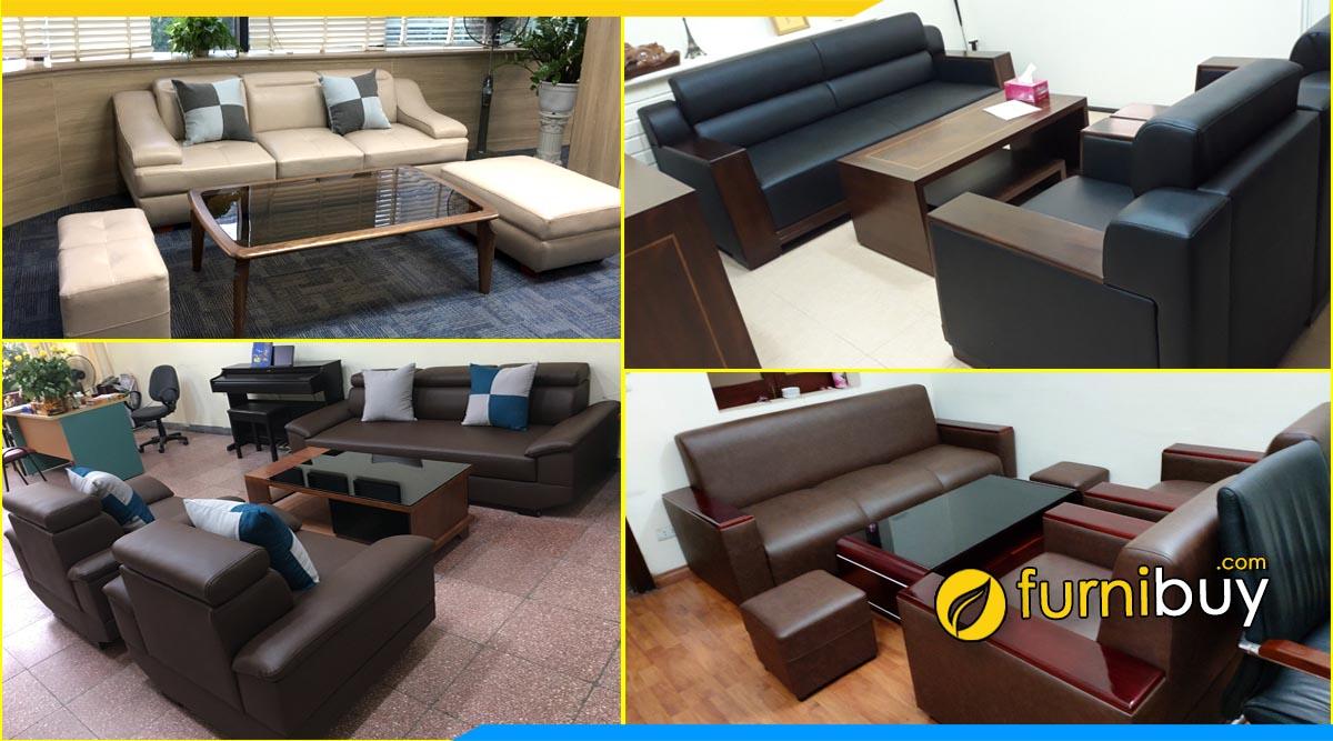 Furnibuy - địa chỉ bán sofa phòng giám đốc tại Hà Nội uy tín 10 năm