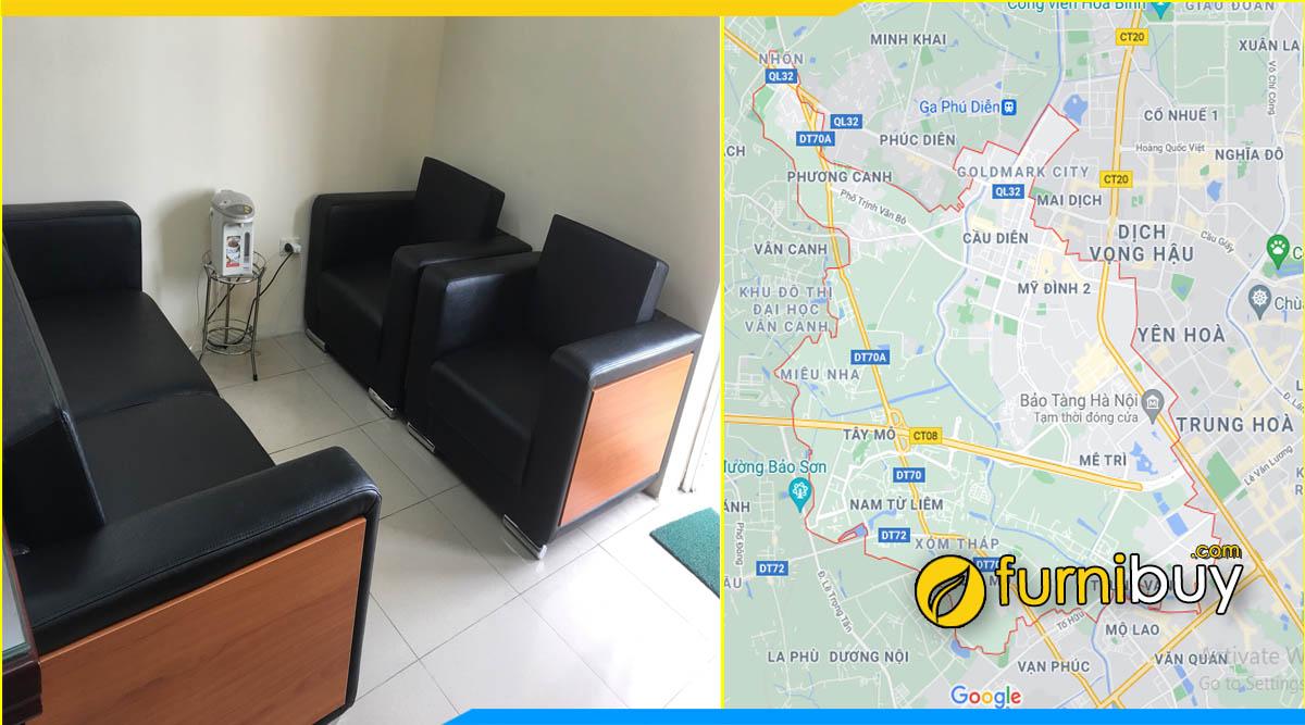 Gợi ý địa chỉ mua bàn ghế sofa phòng giám đốc quận Nam Từ Liêm