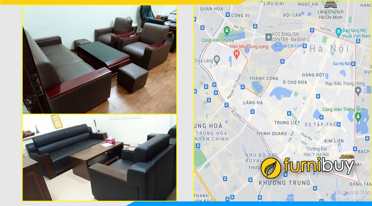 Gợi ý mua ghế sofa phòng giám đốc quận Hà Đông Hà Nội