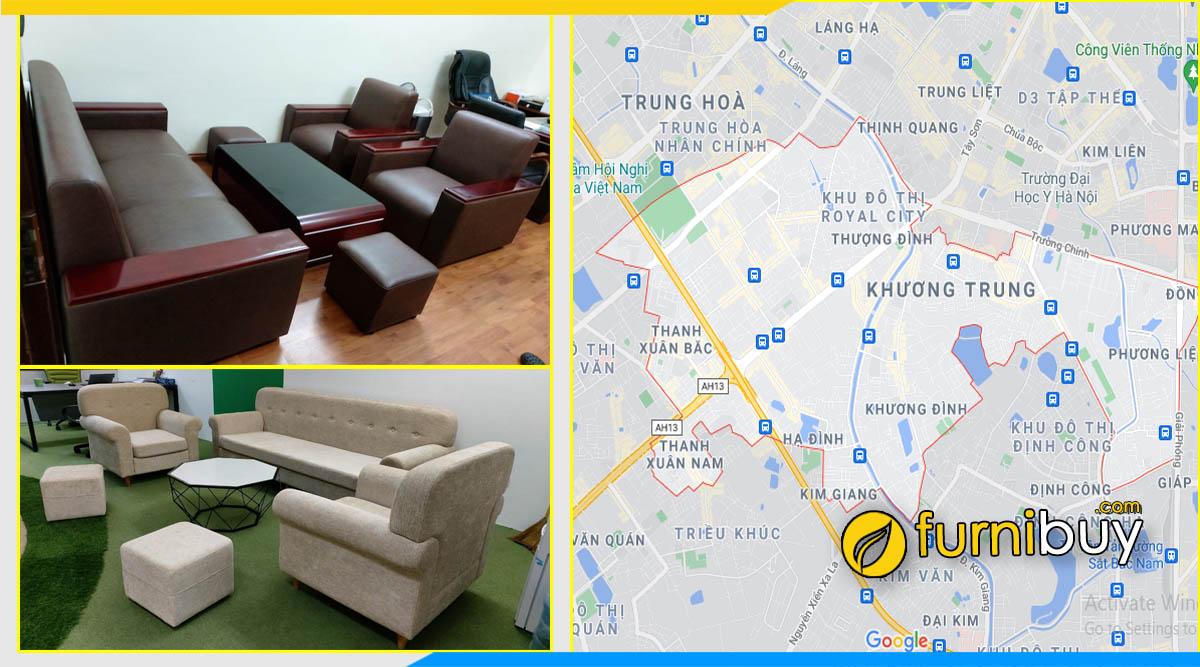 Gợi ý mua ghế sofa phòng giám đốc tại quận Thanh Xuân