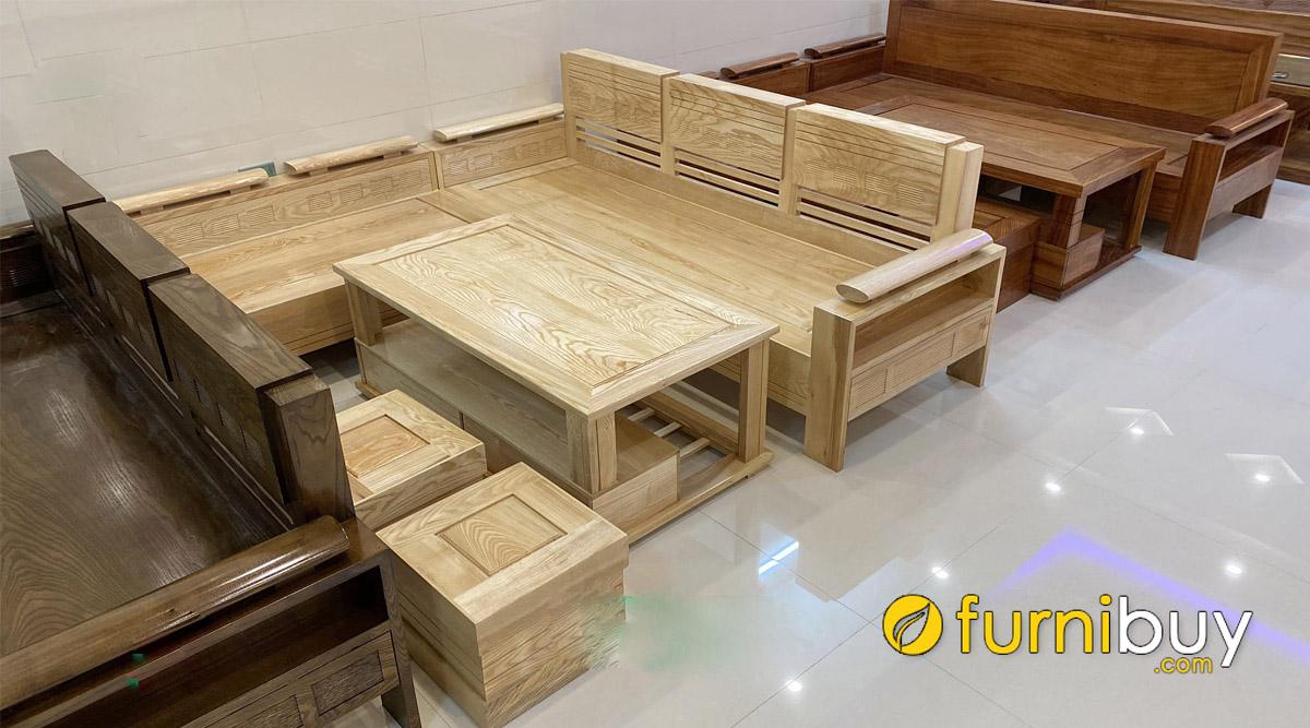 nên chọn sofa gỗ sồi nga hay sofa gỗ sồi mỹ