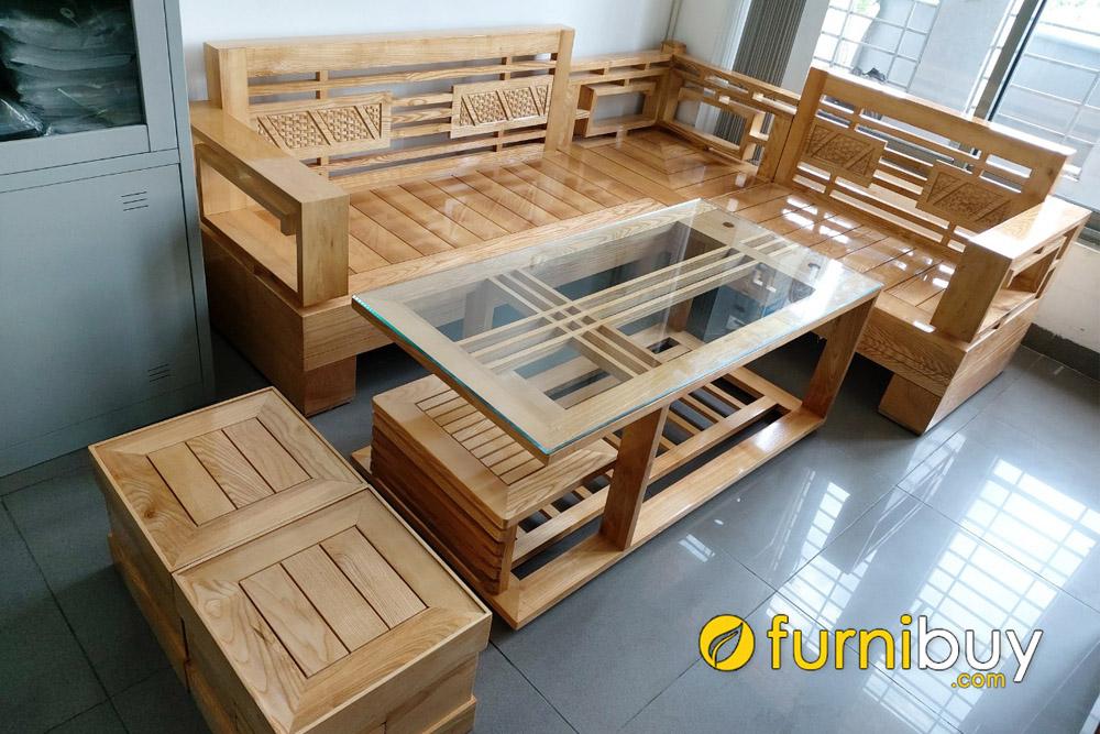 so sánh ưu nhược điểm của sofa gỗ sồi nga và gỗ sồi mỹ
