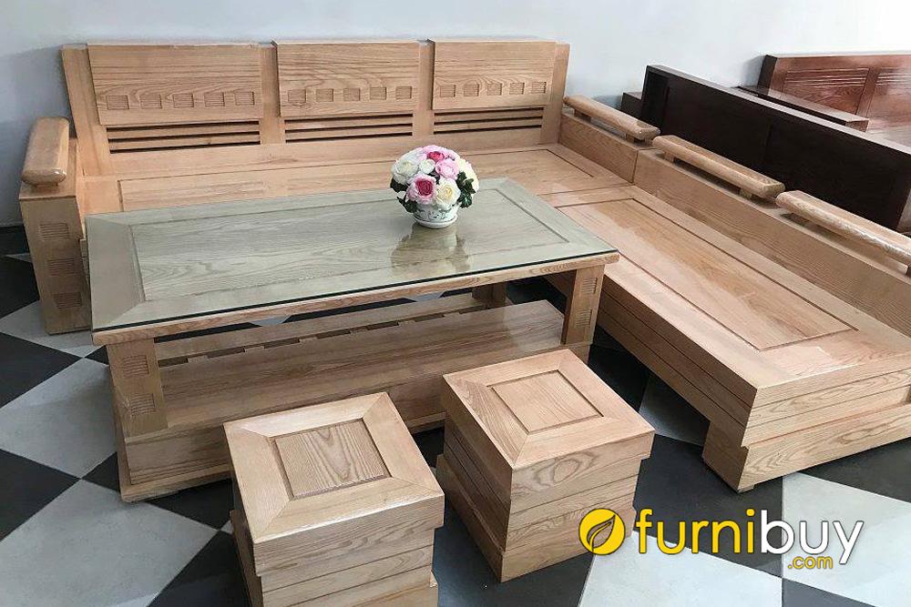 sofa gỗ sồi nga kém bền hơn sofa gỗ sồi mỹ