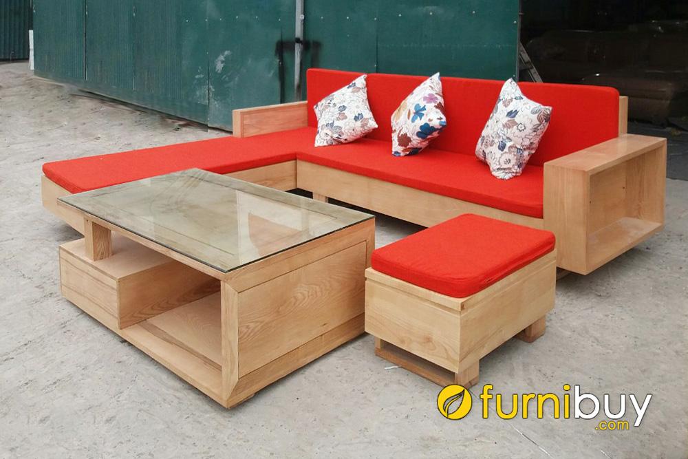ưu điểm của sofa gỗ sồi hiện đại được yêu thích