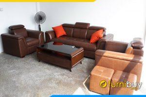 Mua bộ sofa văn phòng giá rẻ Hà Nội tại Furnibuy FBVP1007