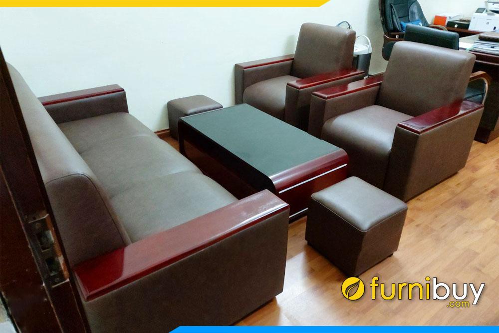 Hình ảnh Bộ ghế sofa văn phòng sang trọng tại Furnibuy FBVP1002