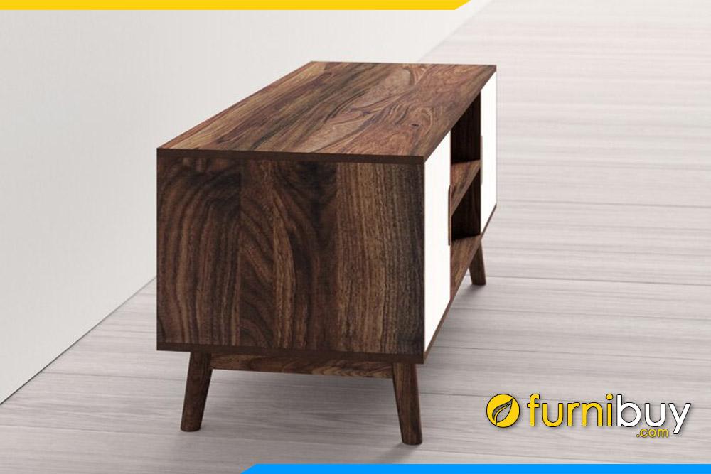 Chiếc kệ tivi gỗ MDF 1m8 dưới 5 triệu FBK1010 góc nghiêng