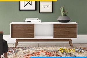 Chiếc kệ tivi gỗ MDF phòng khách FBK1019 đơn giản mà đẹp