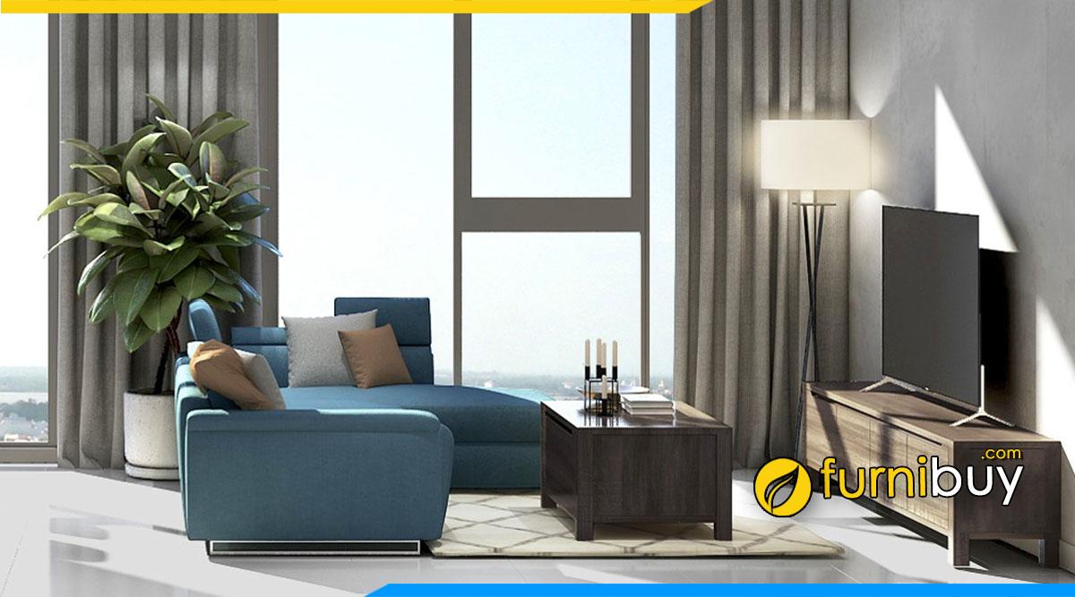 Đặc điểm kệ tivi gỗ cho phòng khách nên chọn - Furnibuy tư vấn