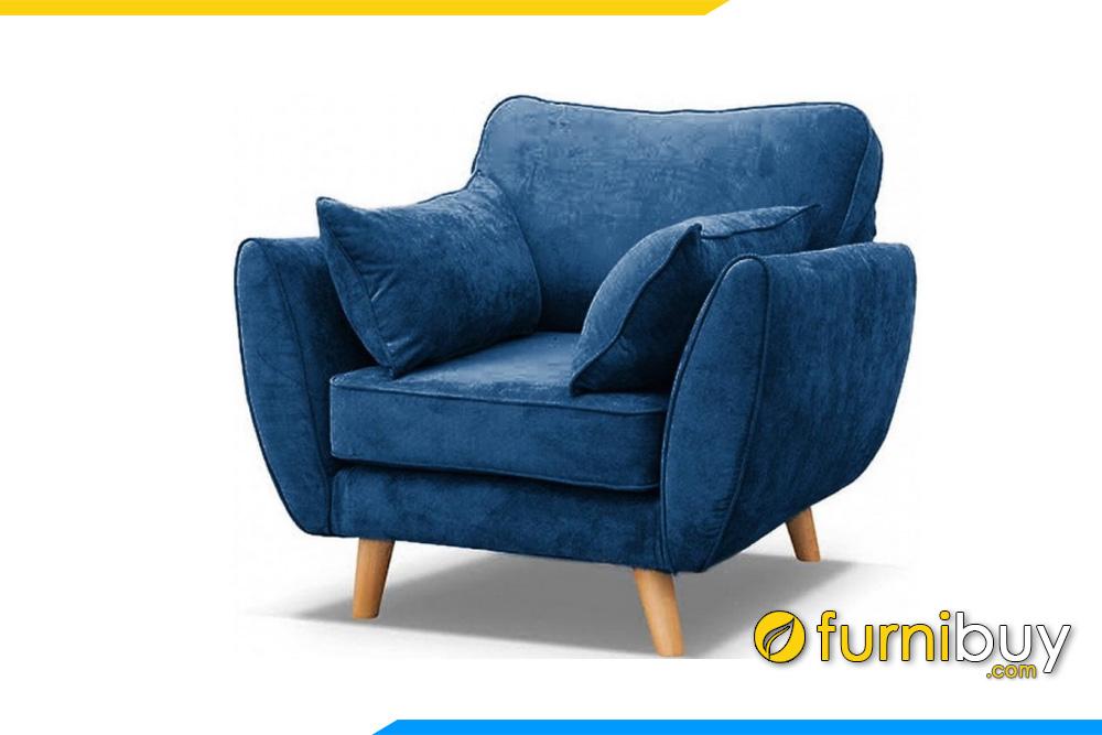 Hình ảnh Mẫu ghế sofa đơn văn phòng nhỏ mini độc đáo