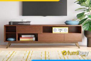 Ảnh Kệ tivi gỗ tần bì phòng khách FBK1021