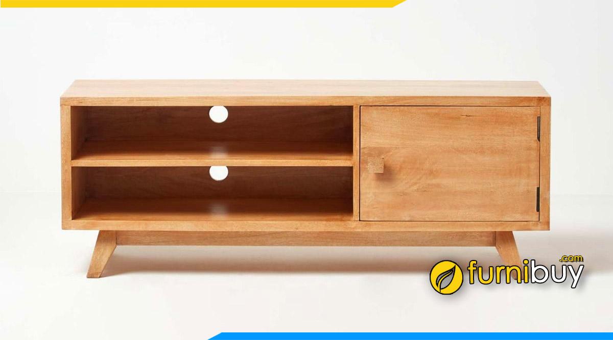 Hình ảnh Mẫu kệ tivi gỗ hiện đại phong cách trẻ trung
