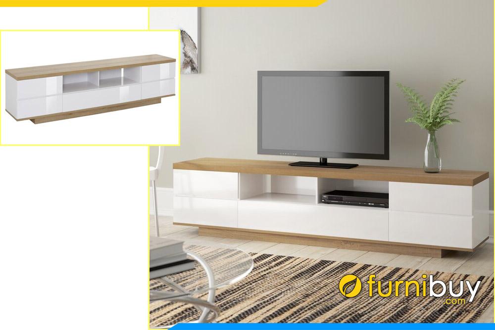 Ảnh mẫu kệ tivi gỗ MDF công nghiệp giá rẻ FBK1002