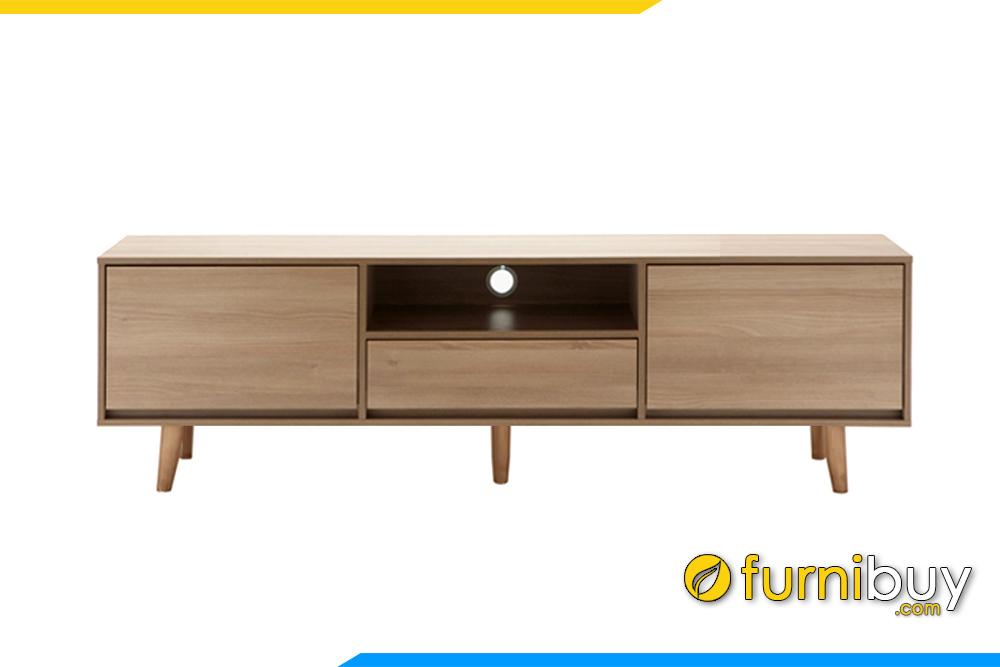 Hình ảnh Mẫu kệ tivi gỗ MDF hiện đại đơn giản 1m8 FBK1008